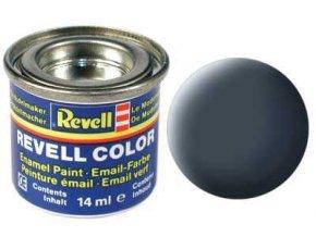Revell - Barva emailová 14ml - č. 9 matná antracitová šedá (anthracite grey mat), 32109
