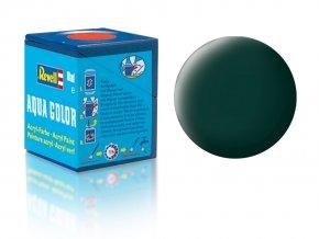 Revell - Barva akrylová 18 ml - č. 40 matná černozelená (black-green mat), 36140