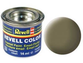 Revell - Barva emailová 14ml - č. 39 matná tmavě zelená (dark green mat), 32139