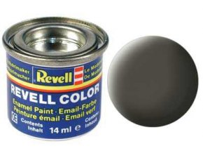 Revell - Barva emailová 14ml - č. 67 matná zelenavě šedá (greenish grey mat), 32167