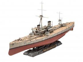 Revell - HMS Dreadnought, Plastic ModelKit 05171, 1/350