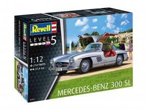 Revell - Mercedes-Benz 300 SL, ModelKit 07657, 1/12