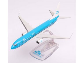 "Herpa - Boeing B737-8K2(WL), dopravce KLM Royal Dutch Airlines ""2018s"" Colors, Named ""Pijlstaart / Pintail"", Nizozemí, 1/200"