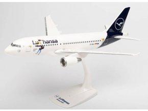 """Herpa - Airbus A319-114, společnost Lufthansa """"LU"""" Colors, Named """"Verden"""", Německo, 1/100"""