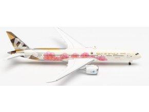 """Herpa - Boeing  B787-9, dopravce Etihad Airways """"ADNOC - Choose Japan"""" Colors, SAE, 1/500"""