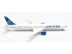 """Herpa - Boeing B787-10, dopravce United Airlines """"2019s"""" Colors, USA, 1/500"""
