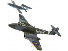 Corgi - Gloster Meteor F1 + letounová střela Fieseler Fi-103, 616.squadrona, T.D. 'Dixie' Dean, 1/72