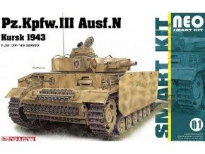Dragon - Pz.Kpfw.III Ausf.L, s.Pz.Abt.502, Leningrad 1942/43, Model Kit 6957, 1/35