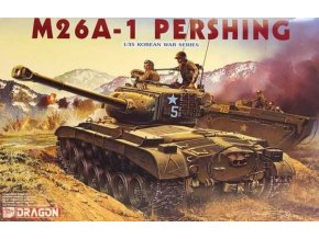 Dragon - M26A-1 Pershing, Model Kit 6801, 1/35
