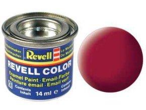 Revell - Barva emailová 14ml - č. 36 matná karmínová (carmine red mat), 32136