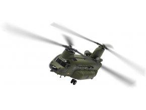 Corgi - Boeing CH-47 HC.3 Chinook, RAF, 18. squadrona, Odiham, 2012, 1/72