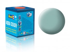 Revell - Barva akrylová 18 ml - č.49 matná světle modrá (light blue mat), 36149