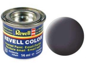 Revell - Barva emailová 14ml - č. 74 matná lodní šedá (gunship-grey mat USAF), 32174