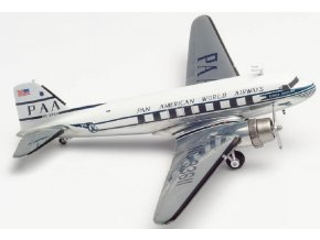 "Herpa - Douglas DC-3, společnost Pan American World Airways, Named ""Clipper Tabitha May"", USA, 1/200"