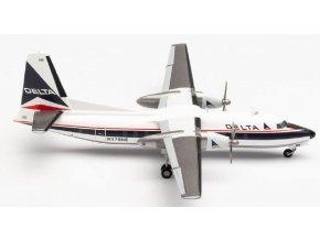 Herpa - Fairchild FH-227, dopravce Delta Air Lines, USA, 1/200