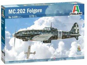 Italeri - MC-202 Folgore, Model Kit 1439, 1/72