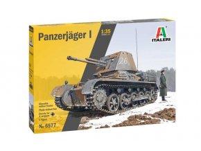 Italeri - Panzerjager I, Model Kit 6577, 1/35