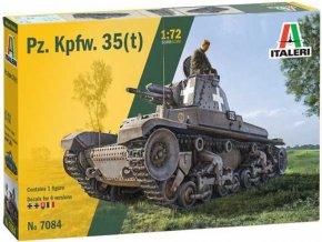 Italeri - Pz. Kpfw. 35(t), Model Kit military 7084, 1/72