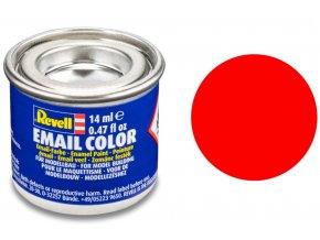 Revell - Barva emailová 14ml - č. 25 matná světle oranžová (luminous orange mat), 32125