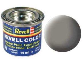 Revell - Barva emailová 14ml - č. 75 matná kamenně šedá (stone grey mat), 32175