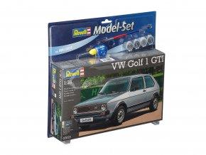 Revell - VW Golf 1 GTI, ModelSet 67072, 1/24