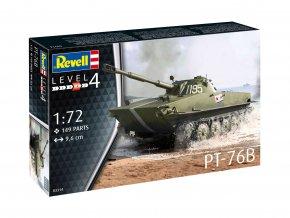 Revell - PT-76B, Plastic ModelKit 03314, 1/72