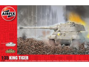 Airfix - Panzer VI Ausf. B Tiger II - King Tiger, Classic Kit A1369, 1/35