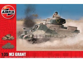 Airfix - M3 Lee / Grant, Classic Kit A1370, 1/35