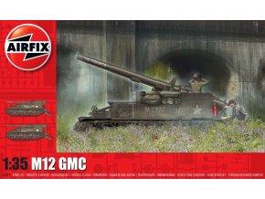 Airfix - M12 GMC, Classic Kit tank A1372, 1/35