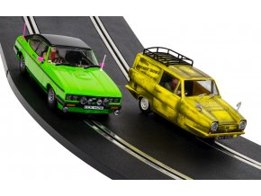 SCALEXTRIC - 2 autíčka - Only Fools And Horses, Film & TV SCALEXTRIC C4179A, 1/32