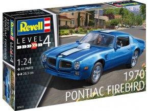 Revell - 1970 Pontiac Firebird, plastic ModelKit 07672, 1/25