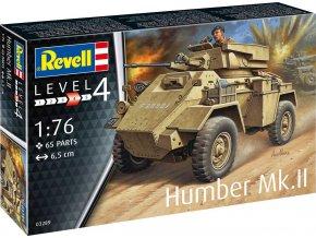 Revell - Humber Mk.II, Plastic ModelKit 03289 - 1/76