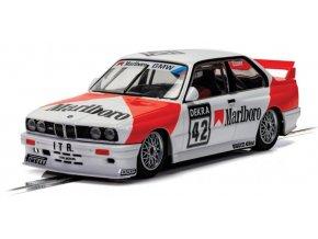 SCALEXTRIC - Autíčko BMW E30 M3 – 1991 DTM – Cor Euser, Touring SCALEXTRIC C4168, 1/32
