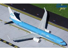 "Gemini - Boeing B737-900, dopravce KLM, ""KLM 100"" PH-BXP (klapky dolů), Nizozemí, 1/200"