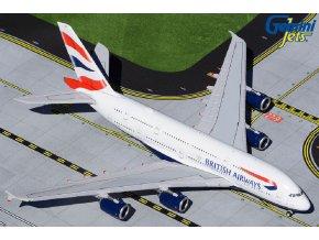 Gemini - Airbus A380, společnost British Airways G-XLED, Velká Británie, 1/400