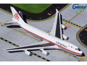 Gemini - Boeing B747-400ERF, dopravce Cargolux retro LX-NCL, Lucembursko, 1/400