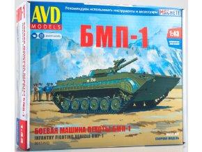 AVD Models - BMP-1 / BVP-1, Model kit 3017, 1/43