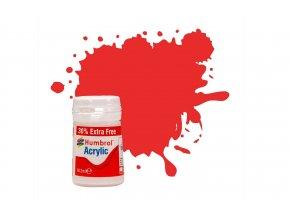 Humbrol - barva akrylová 14ml (+30% navíc zdarma) - No 209 Fire Orange, AB0209EP
