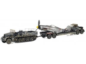 Warmaster -  Sd.Kfz 9 Famo a podvalník Sd.Ah.116 s Focke Wulf Fw-190, 1/72