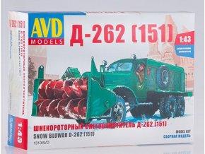 avd models 1313avd sbornaya model avtomobilya shnekorotornyj snegoochistitel d 262 151 1 43