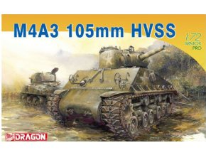 Dragon - M4A3 105mm HVSS, Model Kit 7313, 1/72