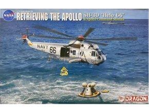 "Model Kit vrtulník 11026 - Apollo Recovery SH-3D ""Helo 66"" & Apollo Command Module (1:72)"