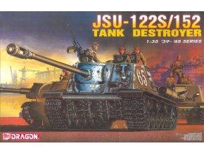 Dragon - samohybné dělo ISU-122S / ISU-152, Model Kit 6047, 1/35