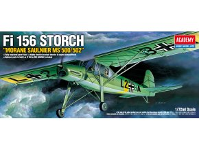 Zvezda - Fieseler Fi 156 Storch, Model Kit 12459, 1/72