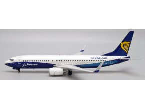 "JC Wings - Boeing B737-800, dopravce Ryanair ""Boeing House Color"" EI-DCL, Irsko, 1/200"
