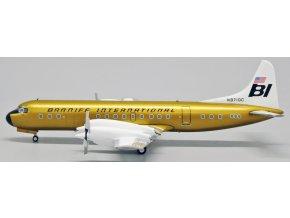 JC Wings - Lockheed L-188 Electra, dopravce Braniff International Airways, USA, 1/200