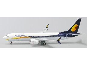 JC Wings - Boeing 737 MAX 8, dopravce Jet Airways VT-JXB, Indie, 1/400