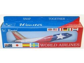 Wooster - Boeing B737-300, společnost Southwest Lone Star, USA, 1/180
