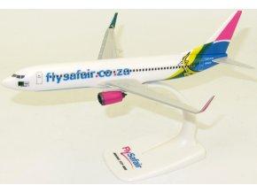 "PPC Holland - Boeing B737-800, společnost Safair, ""flysafair.co.za"", ZS-SJR,  Jihoafrická republika, 1/200"