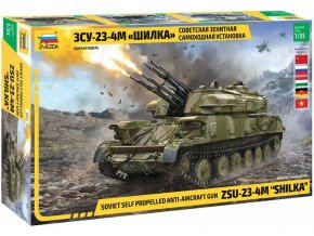 Zvezda - ZSU-23-4M SHILKA, Model Kit 3635, 1/35